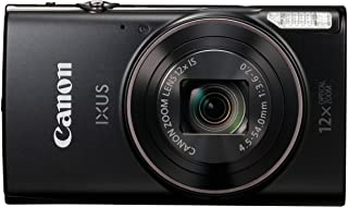 Canon IXUS 285 HS Cámara compacta 202 MP 1/2.3 CMOS 5184 x 3888 Pixeles Negro - Cámara digital (202 MP 5184 x 3888 Pixeles CMOS 12x Full HD Negro)