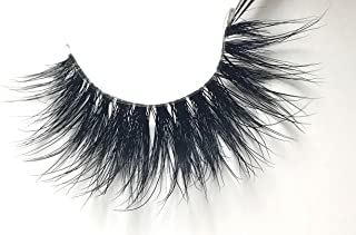 """LUCINE LASHES """"Queen Of The Ball"""" Luxury Collection   Clear Band 3D Mink Lashes   Reusable Up To 20 Times   Handmade And Non-Magnetic"""