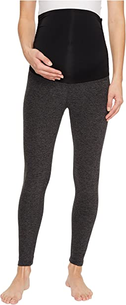 Beyond Yoga Maternity Cross It Back Midi Leggings