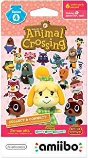 Animal Crossing Amiibo Cards, Series 4 (6-Pack)