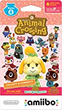 Nintendo Animal Crossing amiibo Cards Series 4 for Nintendo Wii U, 1-Pack (6 Cards/Pack)