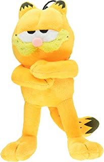 Multipet Classic Officially Licensed Plush Garfield Squeak Toy for Dogs Assorted, 10-Inch, Yellow