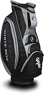Team Golf MLB Victory Golf Cart Bag, 10-way Top with Integrated Dual Handle & External Putter Well, Cooler Pocket, Padded Strap, Umbrella Holder & Removable Rain Hood