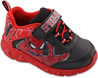 Favorite Characters Spiderman Boys Marvel Lighted Athletic/Sneakers Toddler/Little Kid Red