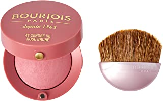 Bourjois Little Round Pot Compact Powder Blusher 48 Cendre De Rose Brune, 2.5g