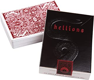Ellusionist Red Hellions Playing Card Deck by Daniel Madison - Don't Play Cards with The Devil