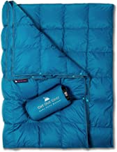 Get Out Gear Down Camping Blanket - Puffy, Packable,...