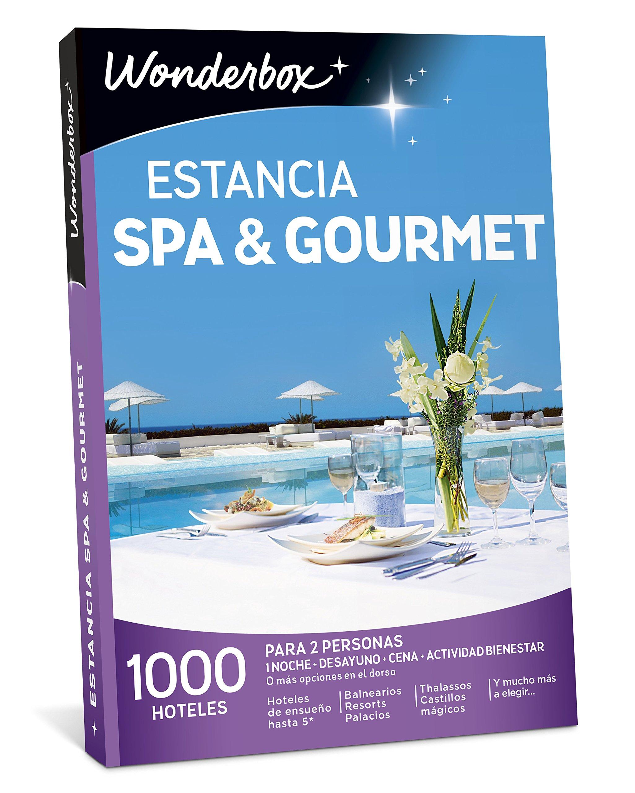 Wonderbox Caja Regalo -ESTANCIA SPA & GOURMET- 1.000 hoteles para ...
