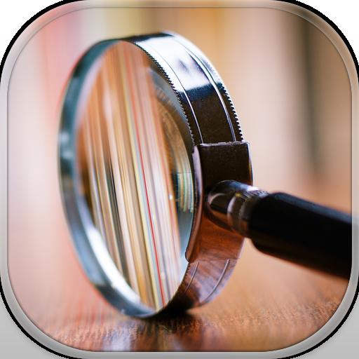 Vergrößerungsglas Taschenlampe Pro