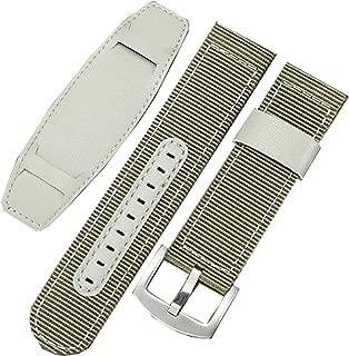 New 20mm 22mm 24mm Green Military Nylon Canvas Watch Strap Band Bund Strap
