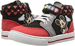 Mickey High Top Sneaker (Toddler/Little Kid)