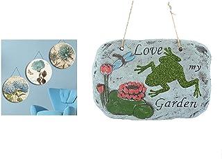Bosphorus Hangable Balcony And Garden Ornament, Love The Garden Written