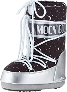 Moon Boot Girlniverse Silver/Black Kadın Kar Botu