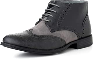 two tone boots mens