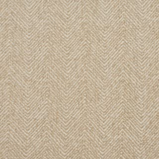 E731 Ivory Herringbone Woven Textured Upholstery Fabric by The Yard