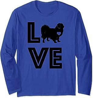 I Heart Dogs Tibetan Spaniel Pet Lover Gift G002581