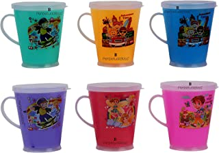 Perpetual Bliss Milk Mugs for Kids/Shakes/Juices/Coffee/Return Gifts for Kids Birthday Party (Pack of 12)