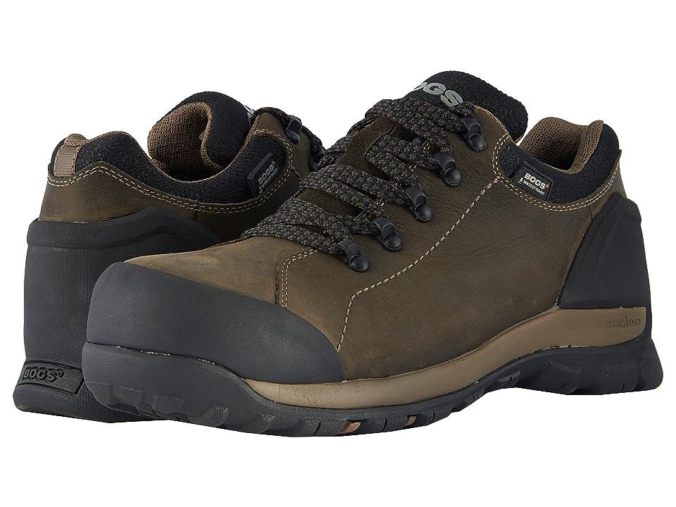 Bogs Foundation Leather Low Comp Toe (Brown) Men
