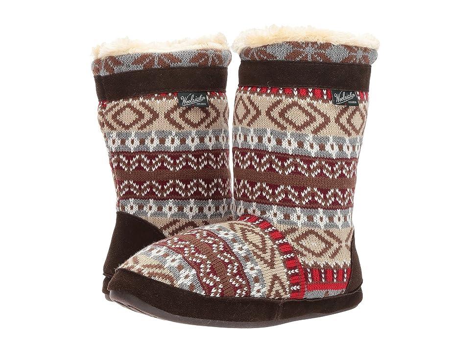 Woolrich Whitecap Knit Boot (Kendall Creek) Women
