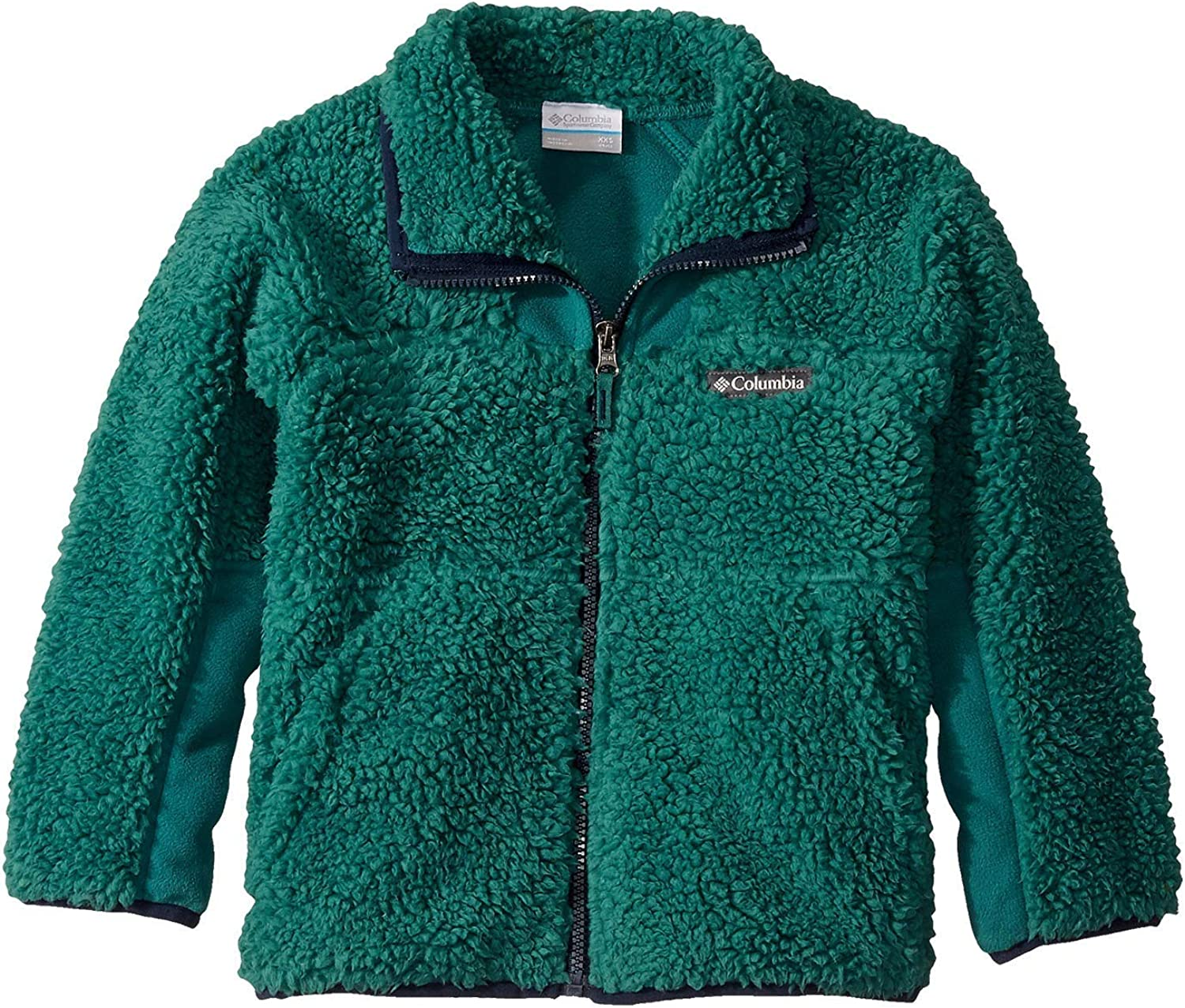 Columbia Youth Winter Pass OFFicial shop Sherpa Fleece Popular brand in the world Zip Jacket Full