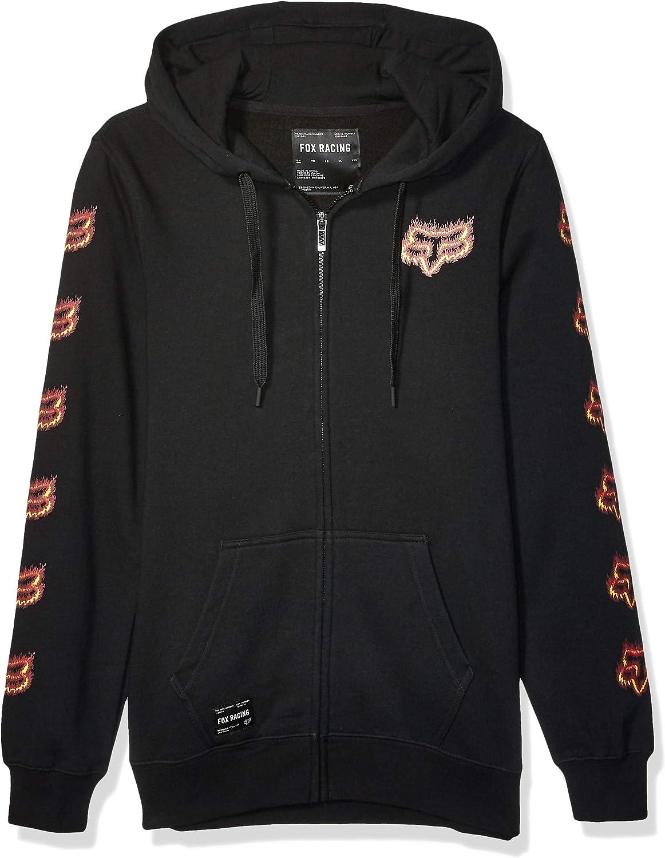 Fox Racing Men's Flame Head Zip Fleece