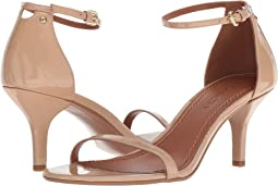 COACH Heeled Sandal,Beechwood Patent Leather