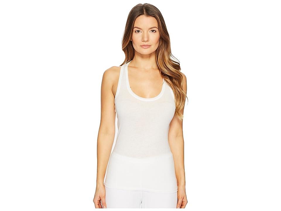 Skin Organic Racerback Tank (White) Women