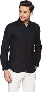 Jack & Jones Men's Solid Slim Fit Casual Shirt