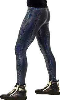 Revolver Fashion Animal Print Meggings USA Made Men's Leggings: Fun 80's Costume Rave Gear