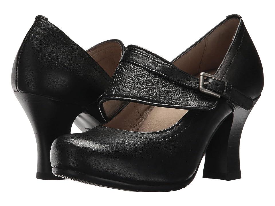 Miz Mooz Beatrice (Black) High Heels
