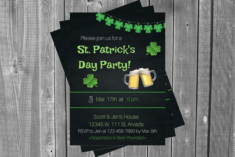 Wholesale St. Patrick's Day Invitation St Invitati Great interest Patricks Beer Adult
