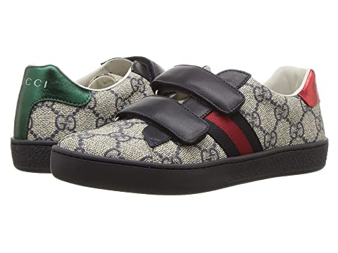 7344f14622c Gucci Kids New Ace V.L. Sneakers (Little Kid) at Luxury.Zappos.com