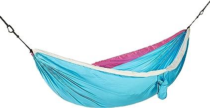 AmazonBasics Lightweight Double Camping Hammock, Sky Blue/White
