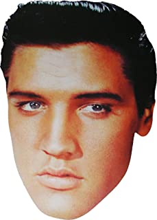 Hollywood Star - Elvis Presley - Card Face Mask