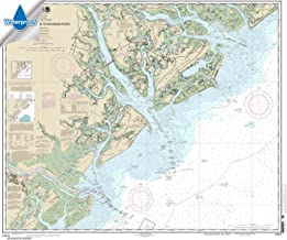 Paradise Cay Publications NOAA Chart 11513: St. Helena Sound to Savannah River 35.6 x 42.4 (WATERPROOF)