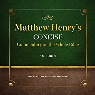 Matthew Henry's Concise Commentary on the Whole Bible, Vol. 2