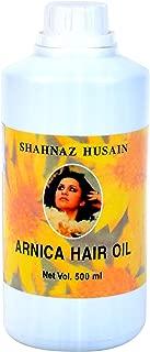 Shahnaz Husain Arnica PLUS Hair Oil Herbal Ayurvedic Latest International Packaging (16.5 fl. oz. / 500 ml)