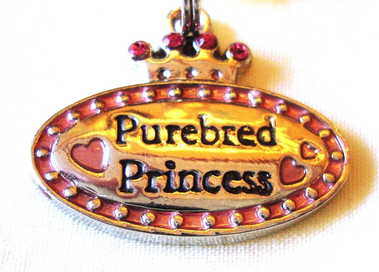 Purebred Princess Pet Collar Charm Tag Lines By Ganz by Ganz