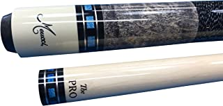 Meucci SB3-B Handcrafted Billiards Pool Cue Stick w/PRO Shaft - Blue + Hard CASE