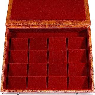 GiRiJA K16 RED Earrings Box Studs Box Jewellery Box