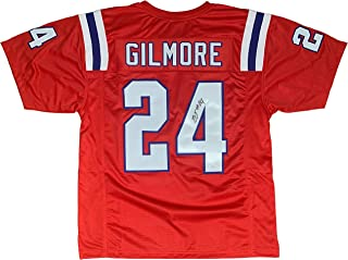 Stephon Gilmore autographed signed jersey NFL New England Patriots JSA COA