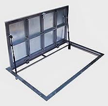 Schachtafdekking staal 700mm x 1000mm(P)-scharnieren Inspectieluik Toegang paneel Inspectie Deur Revisieschacht