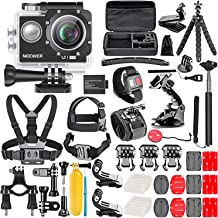 Neewer G1 Ultra HD 4K Action Camera Kit Includes 98 ft Underwater Waterproof Camera 16MP..