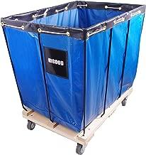 HIGOOD Basket Trucks Blue 12 Bushel Knock Down Truck, 15.0 cu. ft, 600 lb, 36