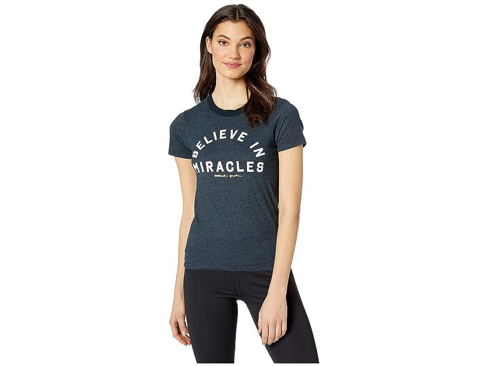 Spiritual Gangster Miracles Tally Tee (Aurora Sky) Women's T Shirt
