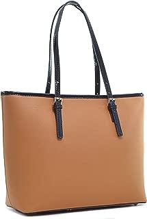 Dasein Women Classic Handbags Designer Carry All Tote Bags Shoulder Purses Work Bags