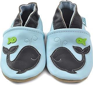 Juicy Bumbles Chaussures Bébé - Chaussons Bébé - Chaussons Cuir Souple - Chaussures Cuir Souple Premiers Pas - Bébé Fille ...