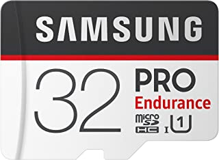 Samsung PRO Endurance 32GB 100MB/s (U1) MicroSDXC Memory Card with Adapter (MB-MJ32GA/AM)