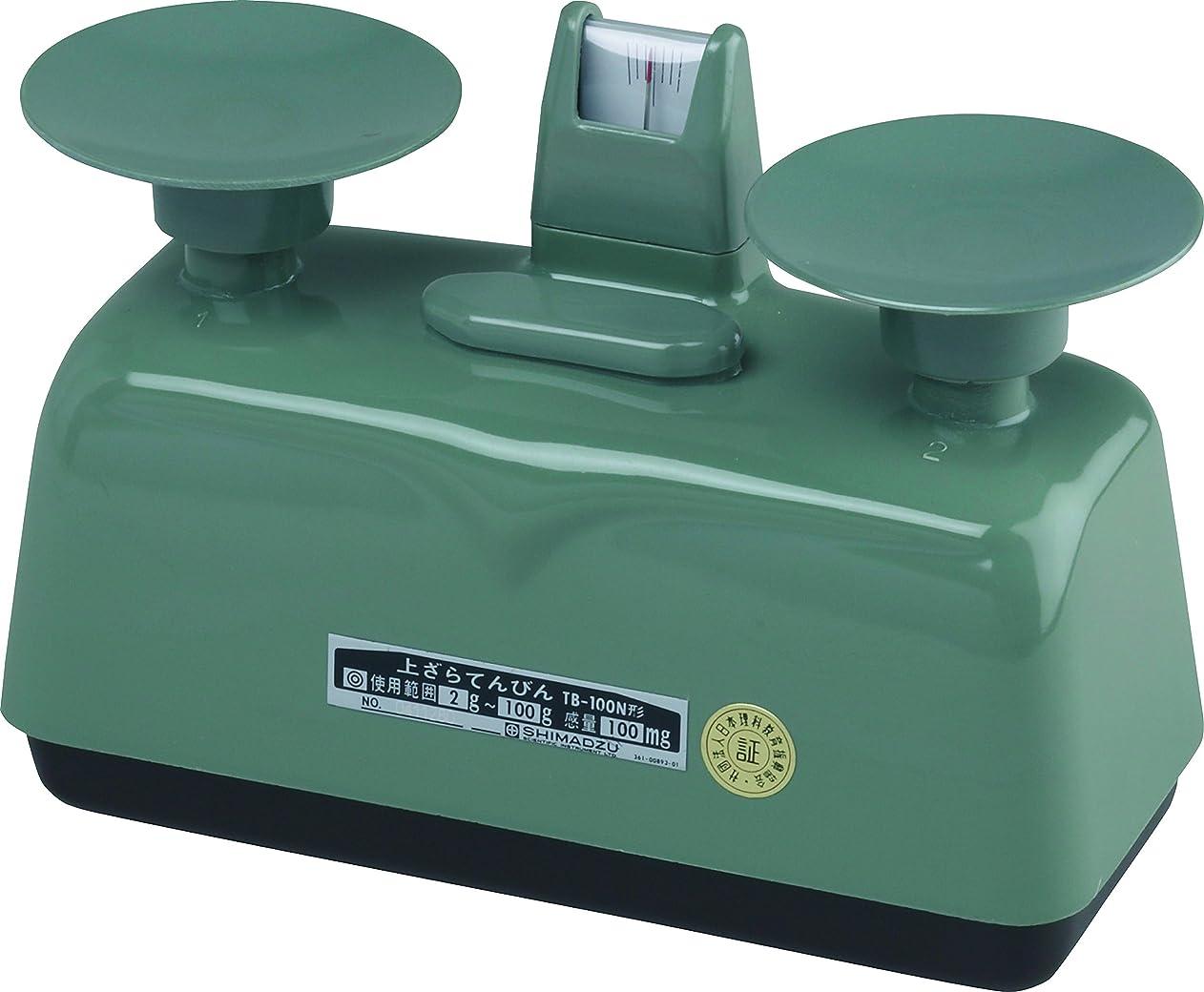 アダルト湿気の多い交じる島津理化 上皿てんびん TB-100N 防塵形