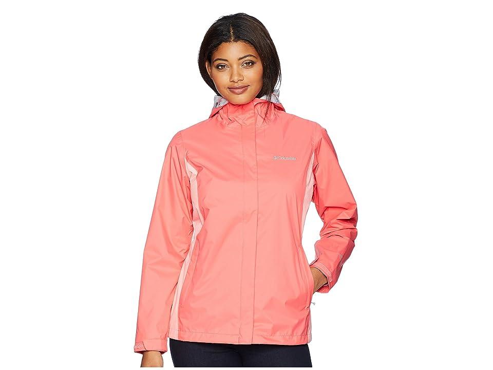 Columbia Arcadia IItm Jacket (Blush Pink/Sorbet/Cirrus Grey) Women